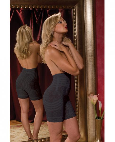 High Waist Long Leg Body Shaper Black Medium