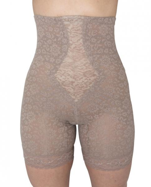 Rago Shapewear High Waist Long Leg Shaper Mocha Lg