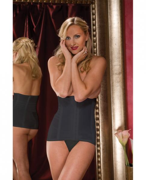 High Waisted Waist Cincher Black Large