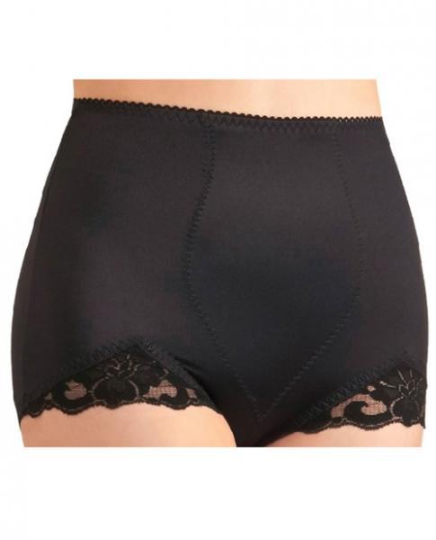 Rago Shapewear Panty Brief Light Shaping Black Lg