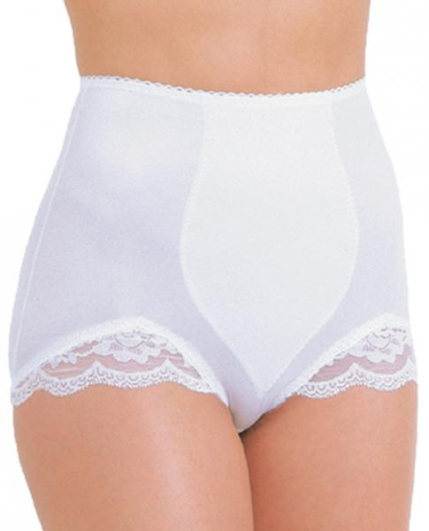 Rago Shapewear Panty Brief Light Shaping White 4X