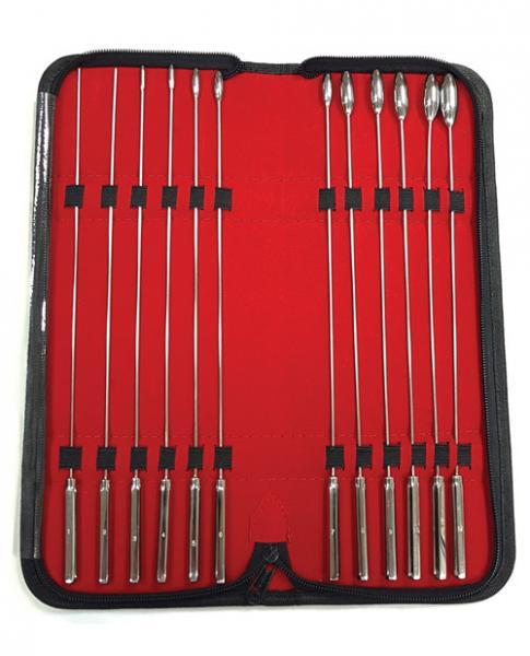 Rouge Stainless Steel Rosebud Dilator Set Of 12