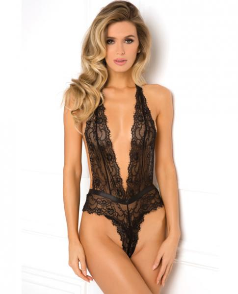 Rene Rofe Plunge In Teddy Black M/L