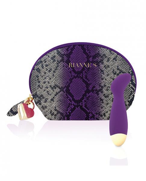 Rianne S Mini G-Spot Boa Deep Purple Vibrator