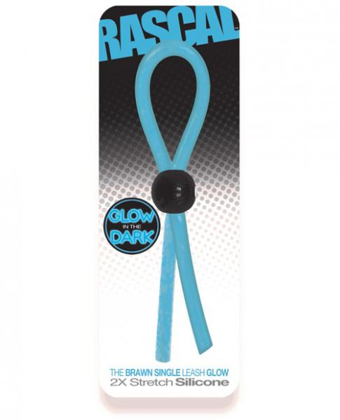Rascal Toys The Brawn Single Leash Glow Blue
