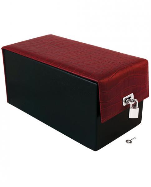 Devine Toy Box Red Crocodile