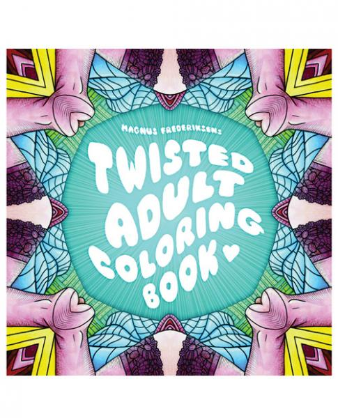 Twisted Adult Coloring Book by Magnus Frederiksen