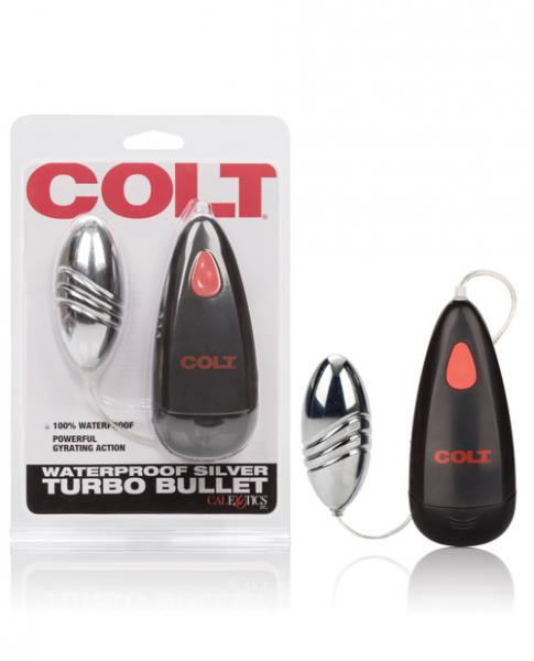 Colt Turbo Bullet Vibrator Silver