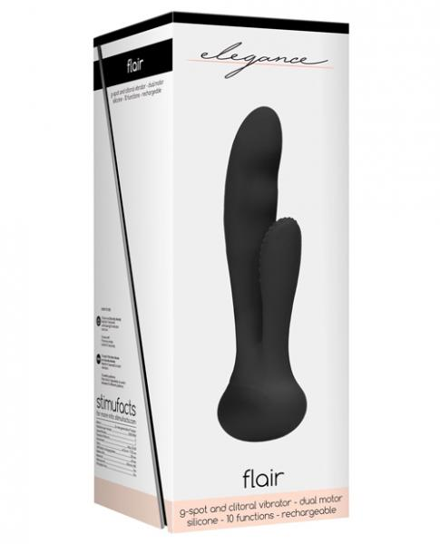 Shots Elegance Rechargeable G-spot - Black