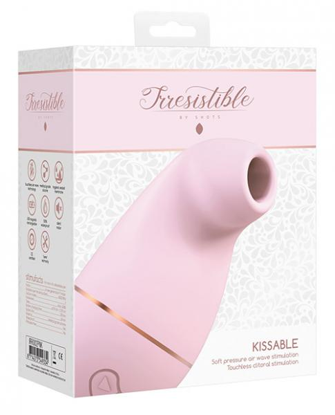 Irresistible Kissable Pink Clitoral Stimulator