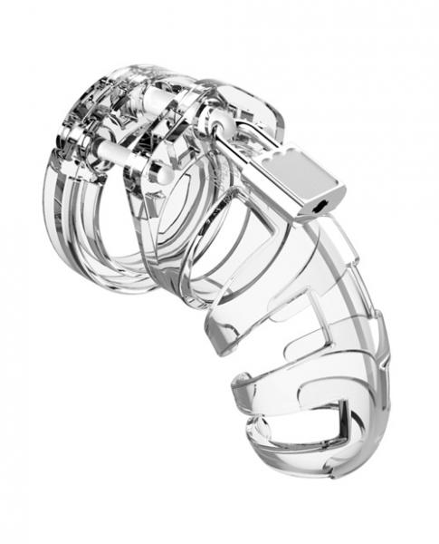 Mancage Chastity 3.5 inches Cock Cage Model 2 Clear