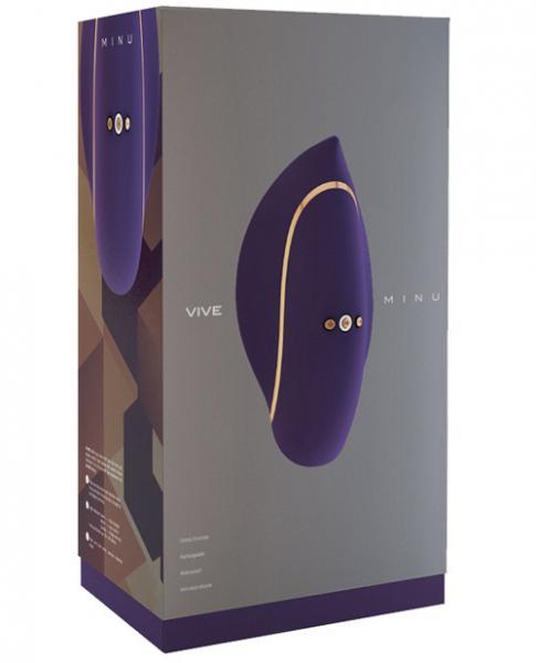 Vive Minu Purple Lay On Clitoral Vibrator
