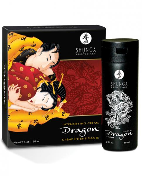 Shunga Dragon Virility Cream 2 fluid ounces