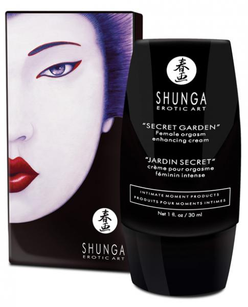 Shunga Secret Garden Enhancing Cream For Her 1oz