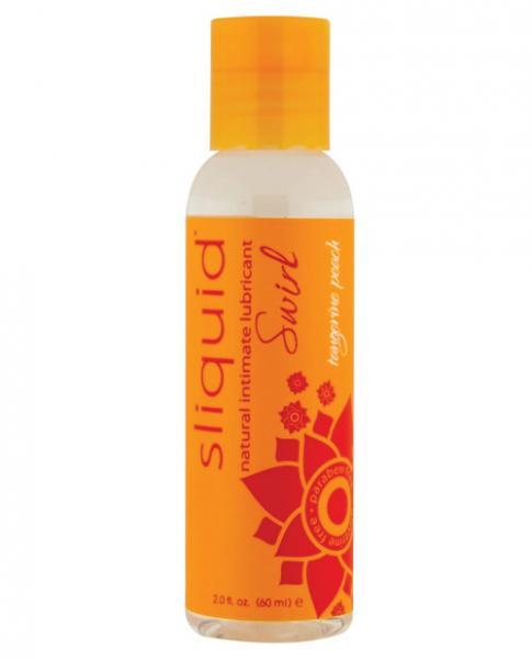 Sliquid Naturals Swirl Lubricant Tangerine Peach 2oz