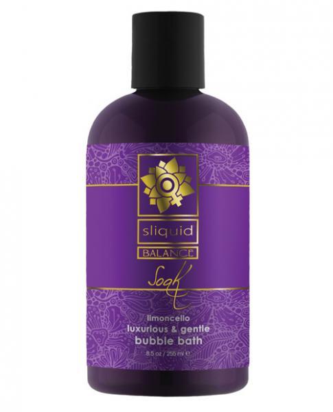 Sliquid Balance Soak  Bubble Bath Limoncello 8.5oz