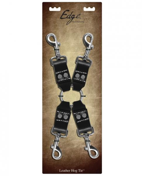 Sportsheets Edge Leather Four Point Hog Tie