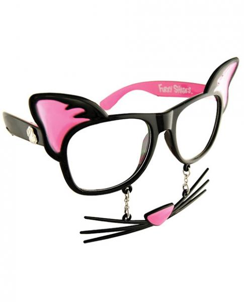 Pussycat Sun Stache Glasses