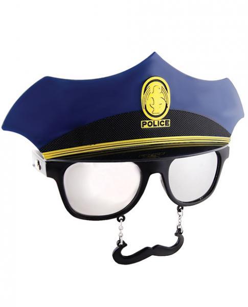 Police Sun Staches Glasses