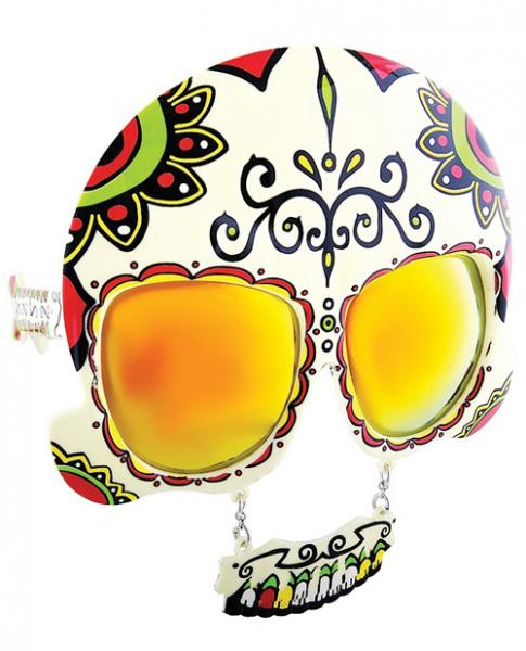 Sun Staches Day Of The Dead Sunglasses