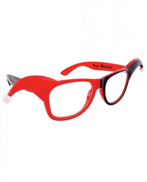 Sun Staches Harley Quinn Sunglasses