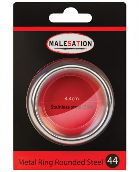 Malesation Nickel Free Steel Rounded Ring 44mm