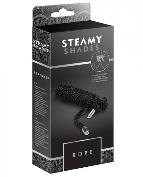 Steamy Shades Rope Black