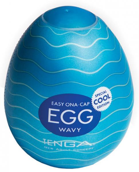 Tenga Egg Wavy Cool Edition Stroker