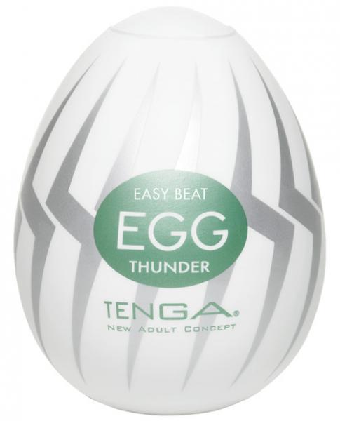 Hard Gel Egg Thunder Masturbator