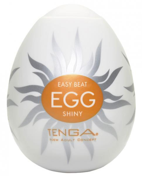 Hard Gel Egg Shiny Masturbator