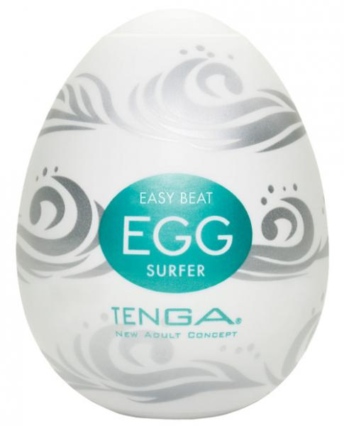 Hard Gel Egg Surfer Masturbation Device