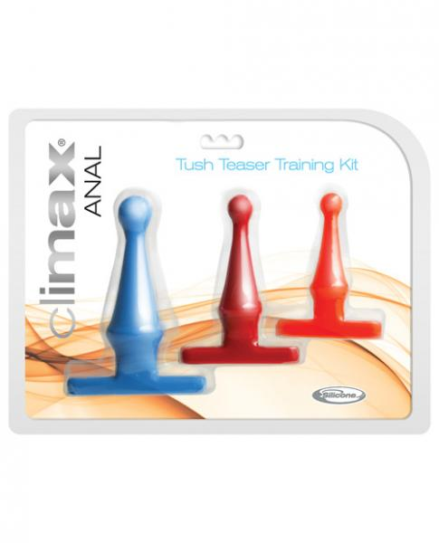 Climax Anal Tush Teaser Trainer Kit 3 Piece Set