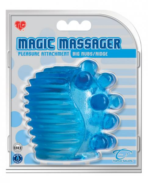 Magic Massager Pleasure Attachment Big Nubs/Ridge
