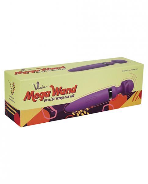 Voodoo Deluxe Mega Wand 28X Purple Body Massager