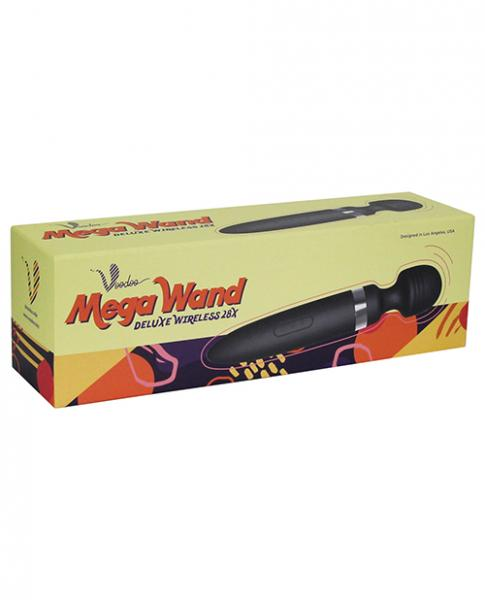 Voodoo Deluxe Mega Wand 28X Black Body Massager