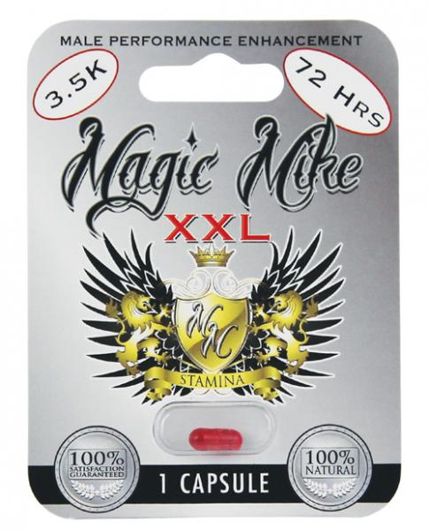 Magic Mike XXL Male Enhancement 1 Capsule Blister