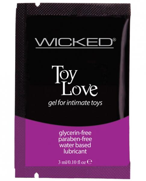 Wicked Toy Love Lubricant 3ml Fragrance Free