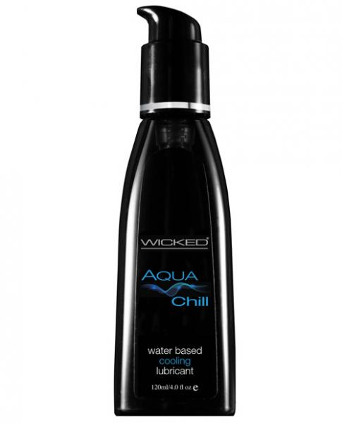 Wicked Aqua Chill Cooling Water Based Lubricant 4oz