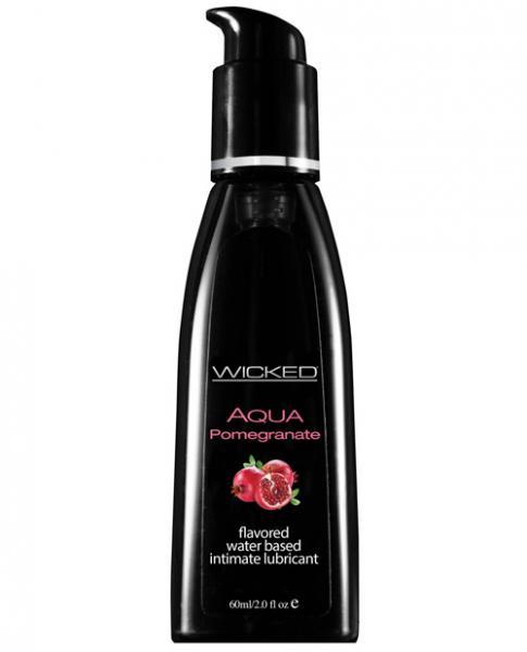 Wicked Aqua Lubricant Pomegranate 2oz