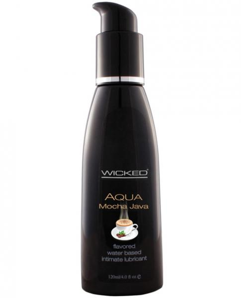 Wicked Aqua Lubricant Mocha Java 4oz