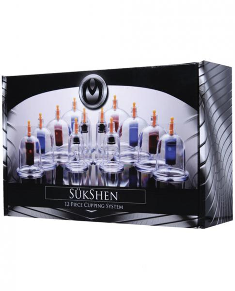Sukshen 12 Piece Cupping System