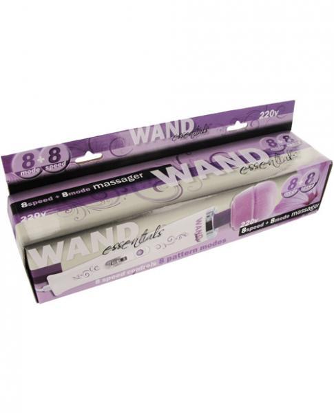Wand Essentials 8 Speeds 8 Modes Massager Purple