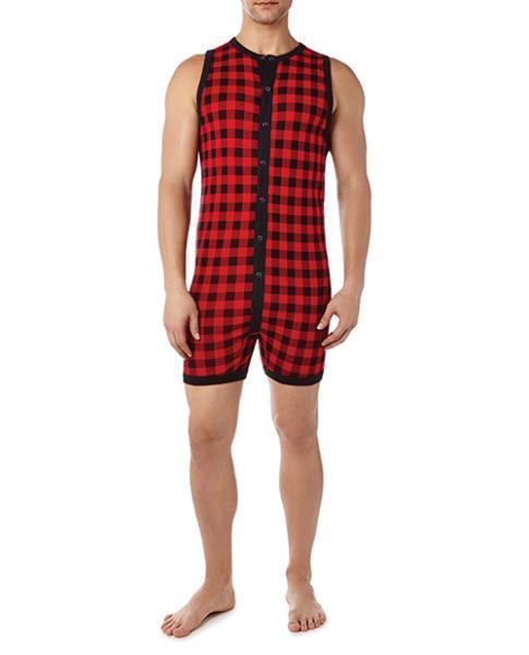 2xist Essential Fashion Bike Suit Plaid XL