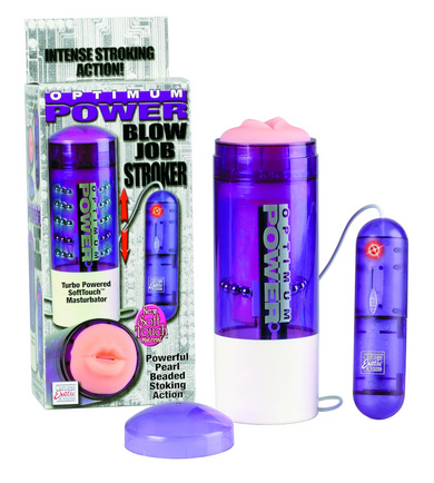 Optimum power blow job stroker purple