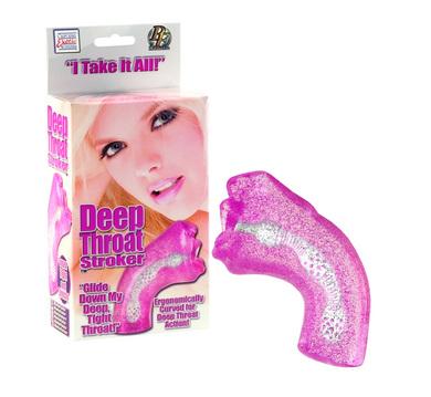 Deep Throat Stroker Pink
