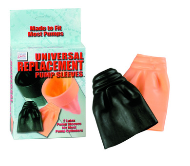 Universal replacement pump sleeves
