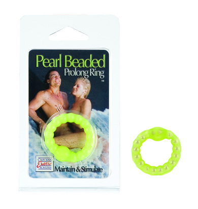 Pearl Beaded Prolong Ring Glow In The Dark