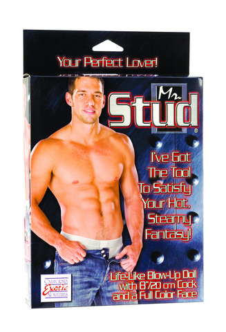 Mr Stud Love Doll Lifelike Inflatable With Penis 8 Inches