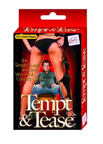 Tempt And Tease Card Game