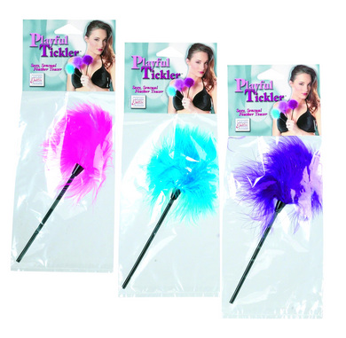Playful Tickler Assorted Color Feathers